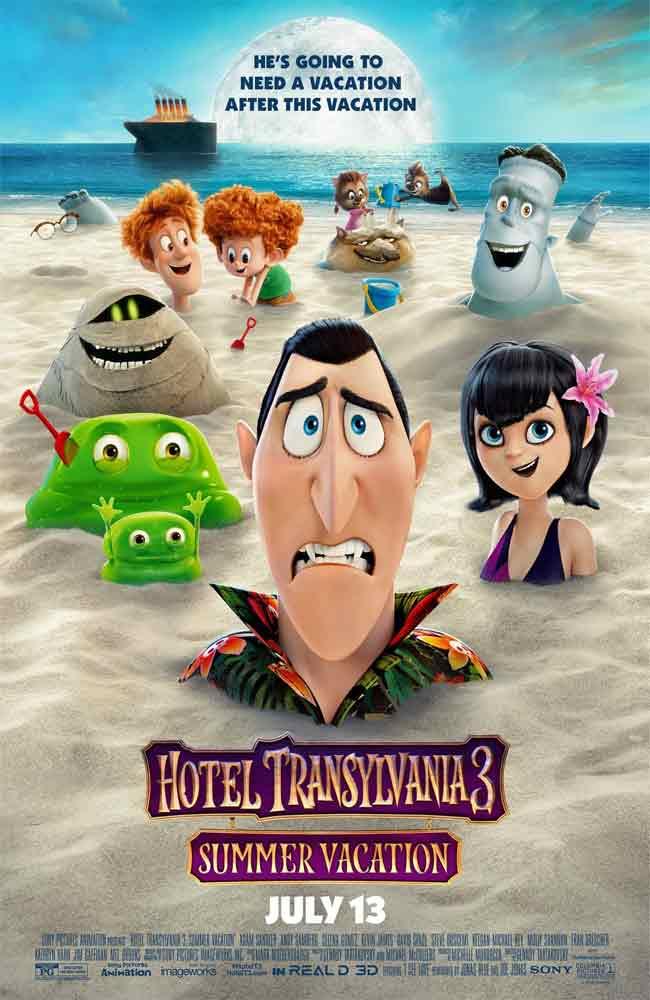 Ver Pelicula Hotel Transylvania 3 Monstruos de Vacaciones Online HD
