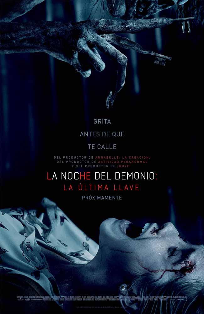Ver o Descargar Insidious: La última llave Pelicula Completa Online HD En Español Latino - Castellano - Subtitulado