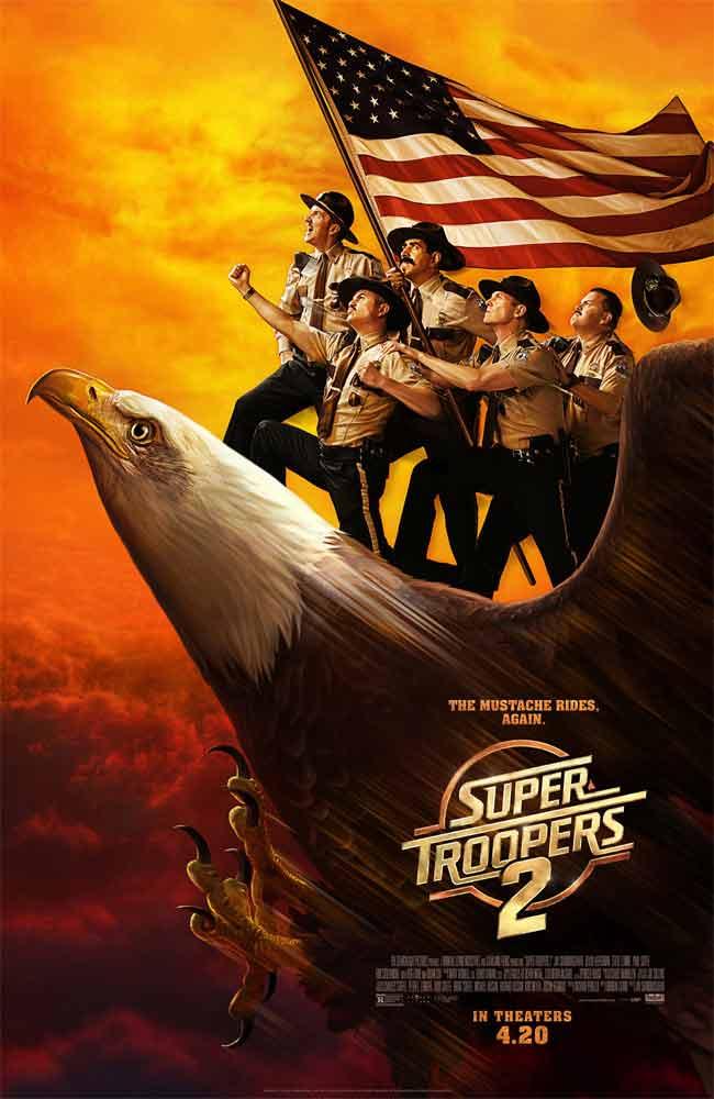 Ver Pelicula Super Troopers 2 Online HD