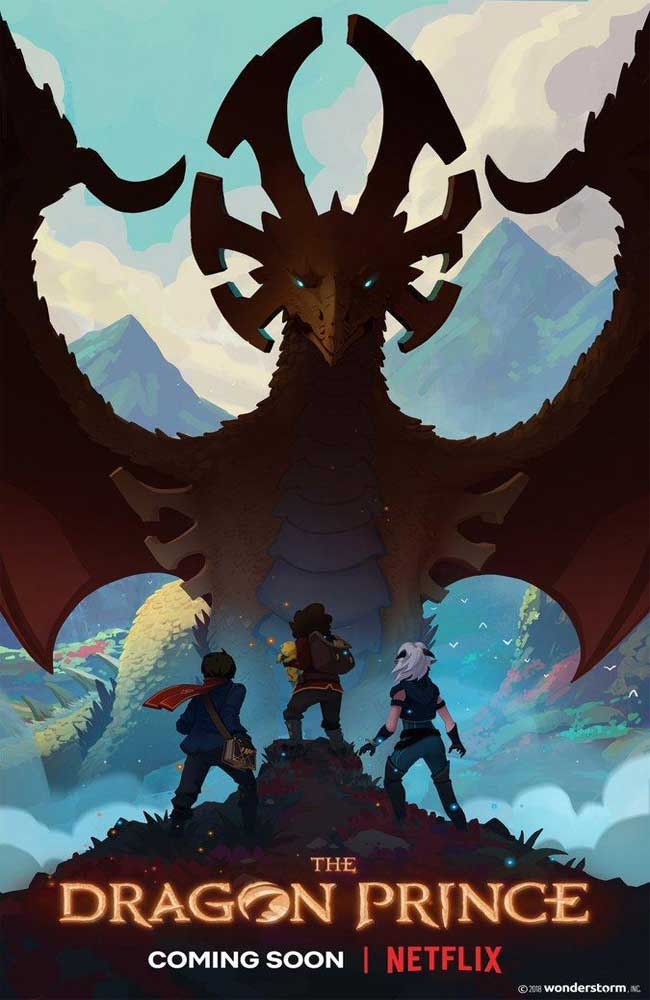 Ver Serie The Dragon Prince (El Principe Dragon) Online HD