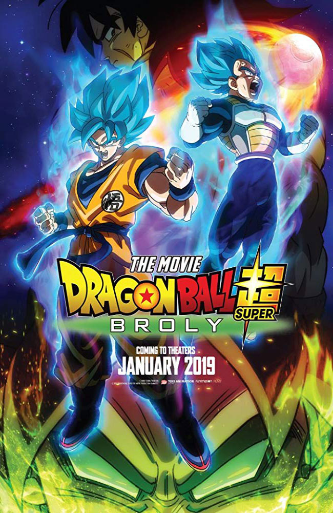 Ver o Descargar Dragon Ball Super: Broly Pelicula Completa Online HD