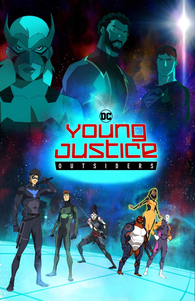 Ver Serie Young Justice: Outsiders Online HD