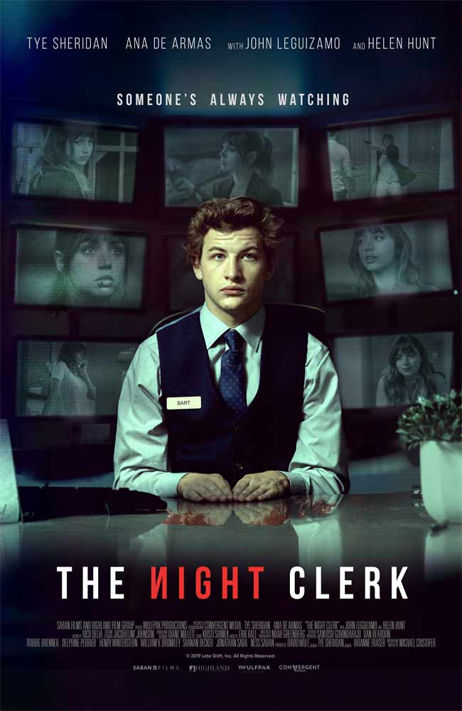 Ver Pelicula The Night Clerk Online HD