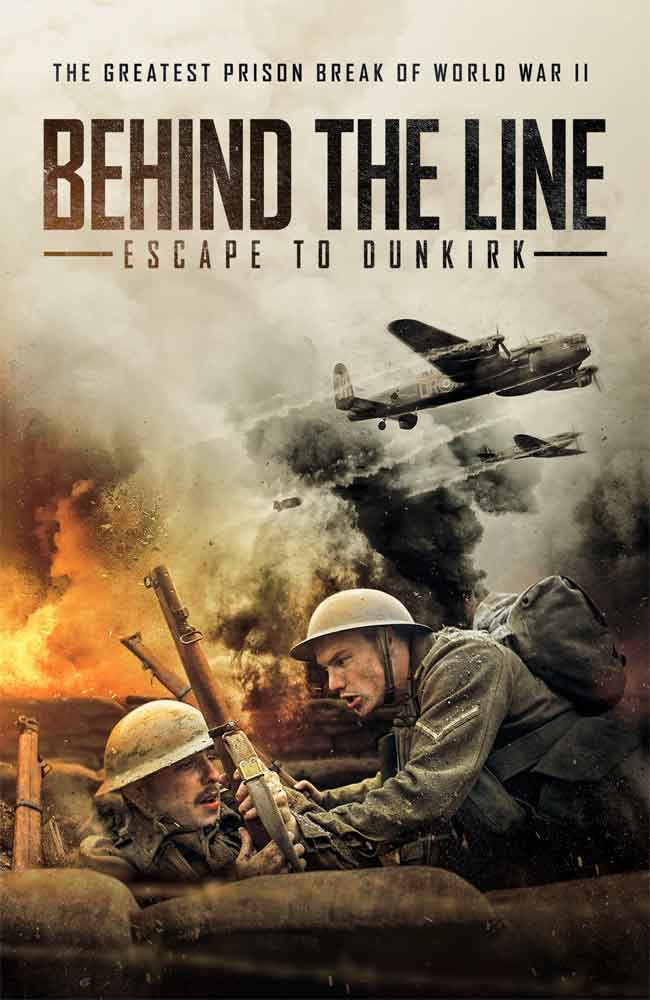 Ver Pelicula Behind the Line: Escape to Dunkirk Online HD