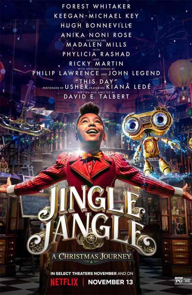 Ver Pelicula Jingle Jangle: Una Mágica Navidad Online HD