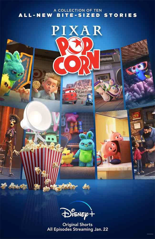 Ver Serie Pixar Popcorn Online HD
