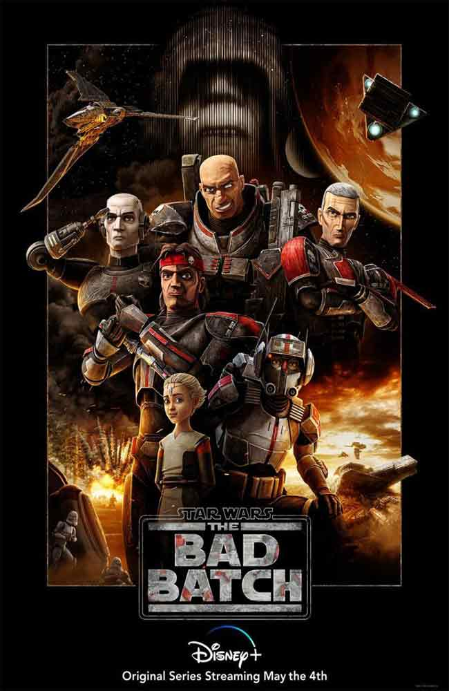 Ver o Descargar Serie Star Wars: The Bad Batch Online Gratis HD En Español Latino - Castellano & Subtitulado